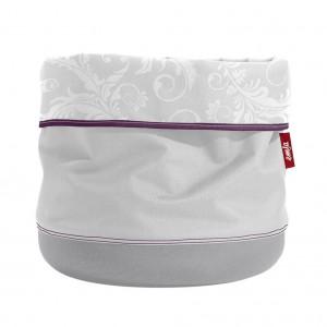 Кашпо EMSA Soft Bag светло-серый, 15 см