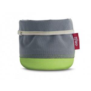 Кашпо EMSA Soft Bag серо-зеленый, 15 см
