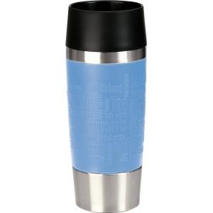 Кружка-термос EMSA Travel Mug голубая, 360 мл