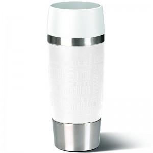 Кружка-термос EMSA Travel Mug белая, 360 мл