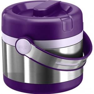 Термос пищевой EMSA Mobility фиолетовый, 0.65 л