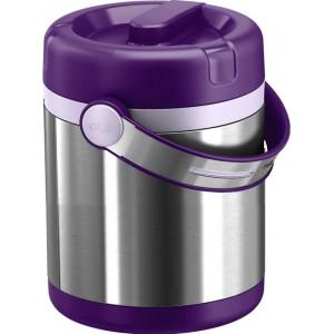 Термос пищевой EMSA Mobility фиолетовый, 1.2 л