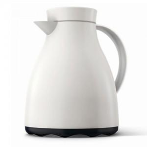 Термос-чайник EMSA Easy Clean белый, 1 л