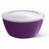 Миска с крышкой EMSA myCOLOURS Savio фиолетовая, 0,6л